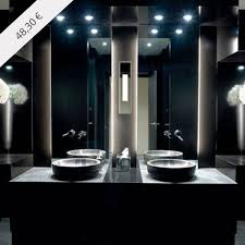 bathroom modern lighting. this is the ideal lighting idea for a stylish and modern bathroom to use mirror lights not only smart but also works as delightful decorative
