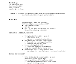 High School Sample Resume Resume High School Student Template No Experience Pdf Sample 39
