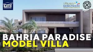 Bahria Town Karachi House Design Video 500 Sq Yds Luxury Model Villa In Bahria Paradise