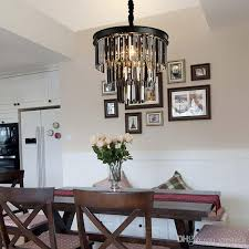 american black iron art crystal chandeliers white chandelier vintage crystal chandelier iron bedroom lamp smoke gray crystal lamp brushed nickel chandelier