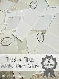 paper white paint colorPicking a White Paint Color 8 Proven Winners  Driven by Decor