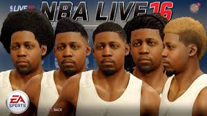 Hairstyle According To My Face Nba Live 16 First Look At My Face Scan Hairstyles Player
