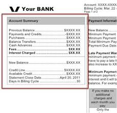 how credit cards interest calculated monthly credit card statement walkthrough