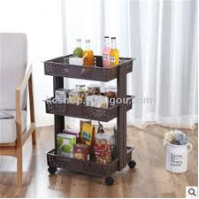 plastic wheel rack kitchen rack fruit and vegetable basket