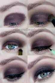 step by step tutorial of this gorgeous dark smoky eye and black winged eyeliner with beauty