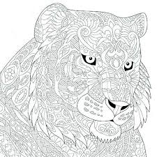 Uk Coloring Pages Of Tigers Cone Crusherclub