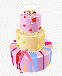 Birthday Cake Clip Art Pink Birthday Cake Png Clipart Image Png