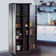 Bit Store Usa 72 Wood Free Standing Kitchen Pantry Organizer