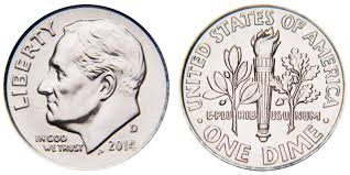 2014 D Roosevelt Dime Coin Value Prices Photos Info