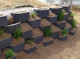 garden retaining wall blocks garden retaining wall materials