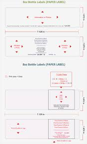 Water Bottles Templates Sample Water Bottle Label Templates Printable Labels And More