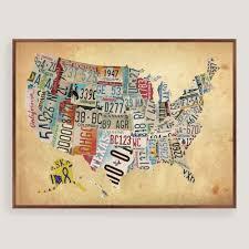 us map canvas print fresh enchanting usa map wall decor gift wall art collections
