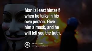Good Intentions Quotes Interesting 48 Quotes On Wearing A Mask Lying And Hiding Oneself