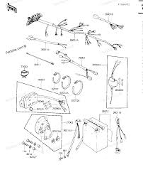 Kawasaki motorcycle parts 1982 kz750 m1 csr chassis electrical equipment diagram motor wiring kawasaki kz750 wiring diagram