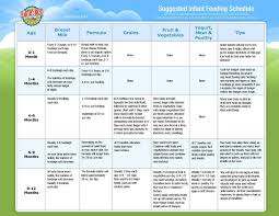 Gerber Baby Food Age Chart Bedowntowndaytona Com