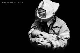 Firefighter Love Quotes Beauteous Firefighter And Ba Pictures Photos And Images For Facebook Free