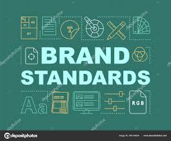 Brand Standards Word Concepts Banner Templates Marketing
