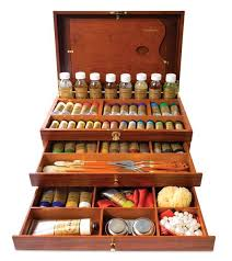charvin extra fine and fine oil paint sets