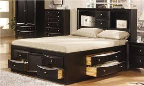bed frame with storage drawers.  Bed Image Of Queen Bed Frame Storage For With Drawers 7