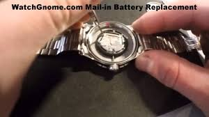 Wenger Watch Battery Chart Swiss Army Watch Battery Replacement Mens Watch