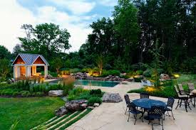 Backyard Retreat transitional-landscape