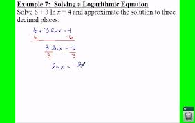 pc 3 4 notes example 7 solving a logarithmic equation