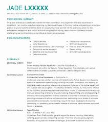 630 Criminal Justice Resume Examples In Illinois Livecareer