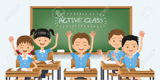 Image result for students learning cartoon  images
