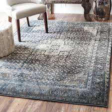 blue yellow and gray area rug grey silver reviews