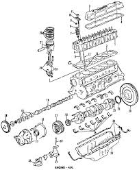 parts com® ford seal asy crkshft rr partnumber f1tz6701a 1996 ford f 150 xlt l6 4 9 liter gas crankshaft bearings