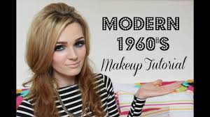 modern 1960 s makeup tutorial