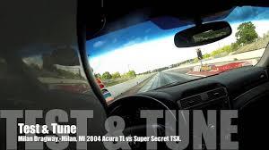 Acura TL Quarter Mile - YouTube
