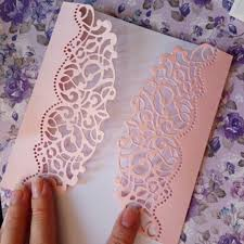 Hemere Making Scrapbook Greeting Card Decor <b>Lace Hollow</b> ...