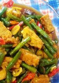 Panjang beneerrr ya mak nama masakannya 😅. Resep Masak Sayur Kacang Panjang Campur Tempe Masakan Mama Mudah