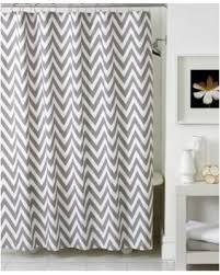 grey chevron shower curtains. Kassatex Bath Accessories, Chevron Shower Curtain - Grey/White Grey Chevron Shower Curtains I