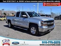 Used 2018 Chevrolet Silverado 1500 For Sale   Used Cars El Paso ...