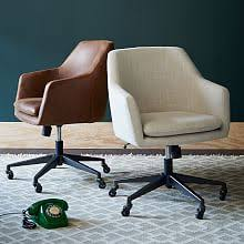 west elm office chair. Helvetica Upholstered Office Chair West Elm
