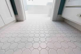 white floor tiles. Inspiring-white-bathroom-floor-tiles-popular-octagonal-tile- White Floor Tiles