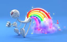 Rainbow wallpaper, Cool 3d wallpapers ...