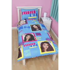little mix childrens girls neon reversible single duvet cover real madrid