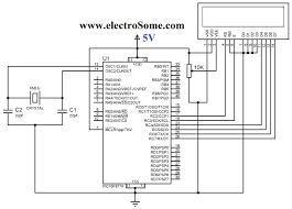lcd interfacing pic microcontroller mikroc pro interfacing lcd pic microcontroller circuit diagram