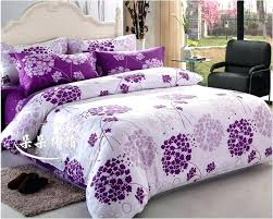 flower comforter set purple and white comforter sets flower bedding set duvet cover sheet