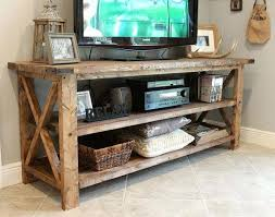 tall tv console. Amazing Tall Tv Console Table Rustic Solid Wood In Stands For Sale Plan