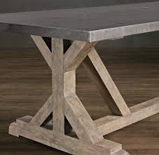 DIY Rustic X Base Console Table Ana White Rustic Dining Tables - Diy rustic dining room table