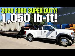 2020 Ford Super Duty Live Horsepower Torque And Towing
