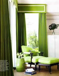 solid curtain panels are my go to window treatment i love how these green panels introduce a bright color in such an easy uncomplicated way