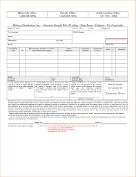 sample bol printable sample bill of lading template 236510700409 generic bol