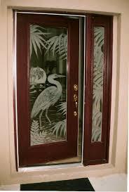 unique decorative front doors decor architectural glass panels