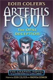 artemis fowl the opal deception the graphic novel
