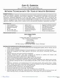 Network Design Engineer Resume Unique Sample Resume Instrumentation